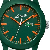 Lacoste Plastic Quartz Green 43mm new