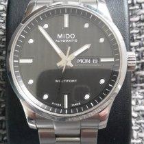 Mido Multifort gebraucht 42mm Grau Datum Stahl