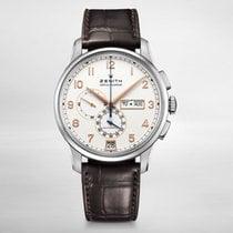 Zenith El Primero Winsor Annual Calendar new Automatic Watch with original box and original papers 03.2072.4054/01.C711