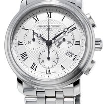 Frederique Constant Classics Chronograph Steel Silver United States of America, New York, Brooklyn