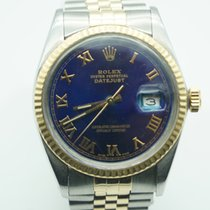 Rolex Datejust Gold/Steel 36mm Blue Roman numerals United States of America, Florida, Miami