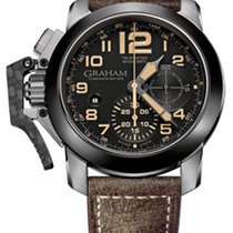 Graham Chronofighter Oversize Black Sahara 2CCAC.B02A.L43S