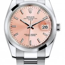 Rolex Used 115200pio Oyster Perpetual Date 34mm in Steel with...