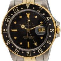Rolex SS/18K YG GMT-Master Transitional ref 16753 circa 1980
