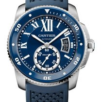 까르띠에 (Cartier) Calibre de Cartier Diver Blue