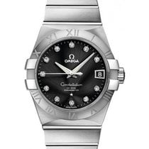 Omega 123.10.38.21.51.001 Constellation Automatic in Steel -...