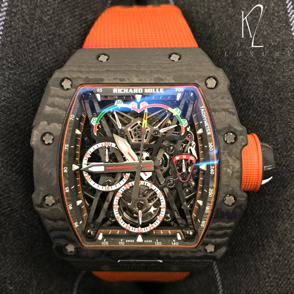 Richard Mille Rm50 03 Mclaren F1 Tourbillon Split Sec Chronograph