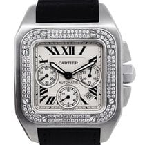 Cartier Santos 100 Steel 42mm White United States of America, Florida, Boca Raton
