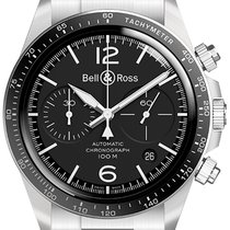 Bell & Ross BR V2 Steel 41mm Black