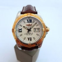 Breitling Cockpit C49350 Very good Gold/Steel 41mm Automatic