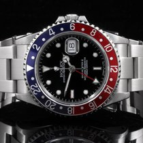 Rolex 16710 Stainless Steel Pepsi GMT-Master II, Black Dial