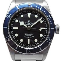 チュードル Black Bay Heritage Ref. 79220 Blue Bezel Automatic Mens...