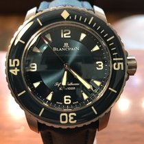 Blancpain Fifty Fathoms Titane Blue
