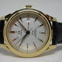 Omega De Ville Co-Axial GMT 18K Gold