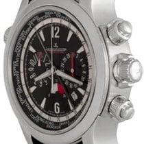Jaeger-LeCoultre Master Compressor Extreme World Chronograph Otel 46mm Negru Arabic
