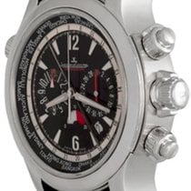 Jaeger-LeCoultre Master Compressor Extreme World Chronograph pre-owned 46mm Black Chronograph Date GMT Rubber