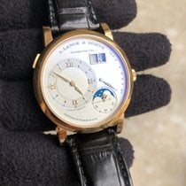A. Lange & Söhne 38.5mm Manual winding 2012 pre-owned Lange 1 Silver