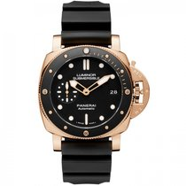 Panerai Rose gold Automatic new Luminor Submersible 1950 3 Days Automatic