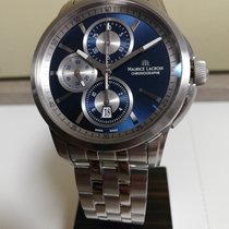 Maurice Lacroix Pontos Chronographe Steel 43mm Blue No numerals