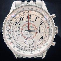 Breitling Montbrillant 01 Steel 40mm White Arabic numerals
