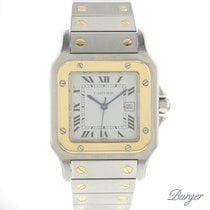 Cartier 29mm Automatic pre-owned Santos (submodel) Silver