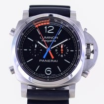 Panerai Luminor 1950 Regatta 3 Days Chrono Flyback Titanium 47mm Black Arabic numerals