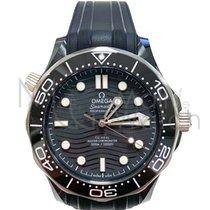 Omega Seamaster Diver 300 M nuevo Automático Reloj con estuche y documentos originales 210.92.44.20.01.001