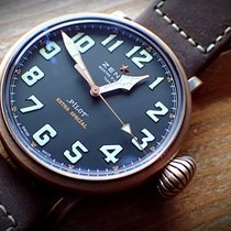 Zenith Pilot Type 20 Extra Special Bronce 45mm Negro Árabes