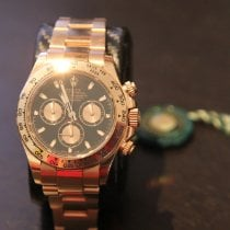 Rolex Daytona Rose gold 40mm Black No numerals Australia, Central