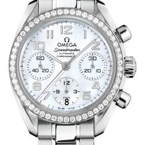Omega Steel Automatic Mother of pearl 38mm new Speedmaster Ladies Chronograph