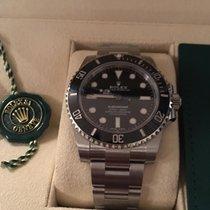 Rolex Submariner (No Date) neu 2019 Automatik Uhr mit Original-Box und Original-Papieren 114060