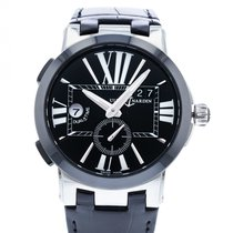 Ulysse Nardin Executive Dual Time Steel 43mm Black United States of America, Georgia, Atlanta