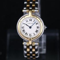 Cartier Panthère Gold/Steel 24mm White Roman numerals