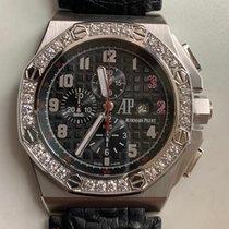 Audemars Piguet Royal Oak Offshore Chronograph occasion 48mm Noir Chronographe Date Boucle ardillon