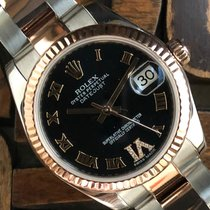 Rolex Lady-Datejust Acero y oro 31mm Negro España, Madrid
