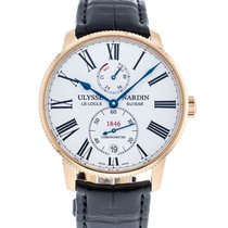 Ulysse Nardin Rose gold 42mm Automatic 1182-310/40 pre-owned