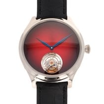 H.Moser & Cie. Endeavour White gold 42mm Red United States of America, California, Beverly Hills