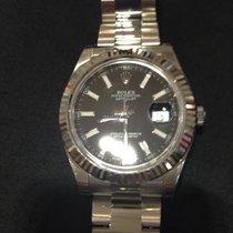 Rolex Datejust Schwarz