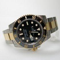 Rolex Submariner Stahl Gold Schwarz