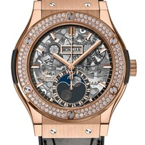 Hublot Classic Fusion Moonphase King Gold Diamonds 45 mm
