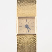 Piaget Solid 18k Yellow Gold Vintage Delicate Hand-Winding Watch