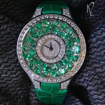 Graf Classic Butterfly Green Emerald & Diamond