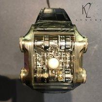 Cabestan Platino 46.5mm Manuale Luna Nera Titanium nuovo