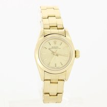 Rolex Oyster Perpetual Lady Date Or jaune 24mm Champagne Sans chiffres France, Bordeaux