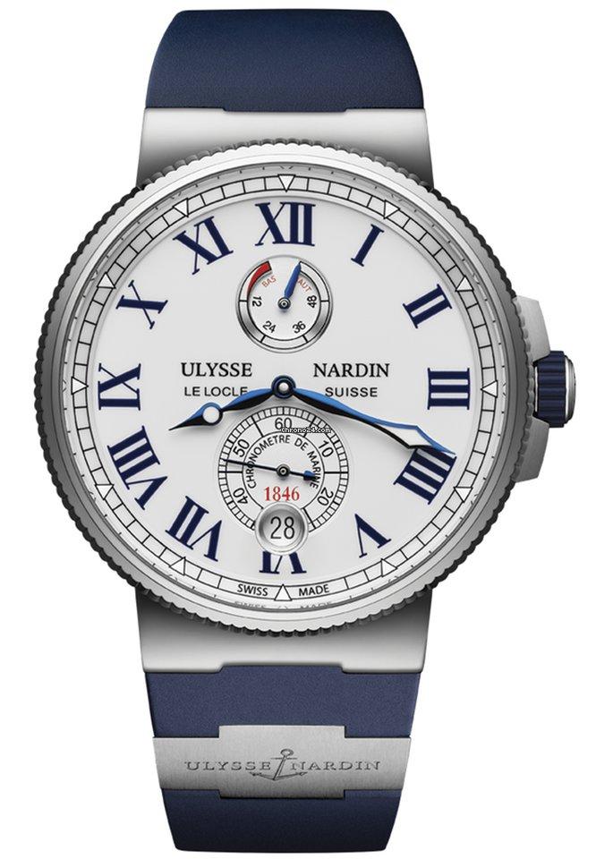 Ulysse Nardin Marine Chronometer Manufacture 1183-122-3/40 2021 neu