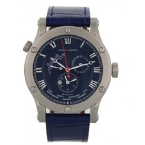 Ralph Lauren Sporting 45mm World Time Steel R0210700 Watch