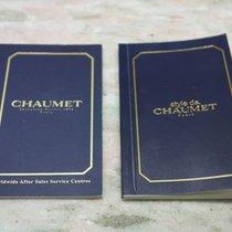 Chaumet vintage warranty booklet stamp dealer and service centres