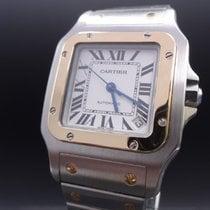 Καρτιέρ (Cartier) Santos Carre Galbee Xl - Ref. W20099c4