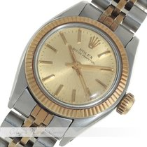 Rolex Oyster Perpetual Stahl / Gold 6719