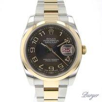 Rolex Datejust 36 Steel/Gold Bronze Arabic